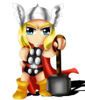 Thor Chibi by ExoroDesigns