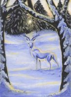 ACEO Stillness by DawnUnicorn