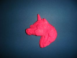 pink unicorn eraser by Ethereal-Beings