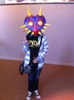 Majora's mask cosplay by KH-LoZ-er