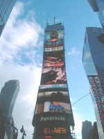 Welcome Back to Time Square by tony566