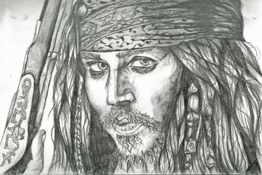 Jack Sparrow by Frazzlee