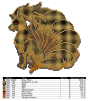 Ninetails Cross Stitch Pattern by AgentLiri