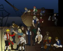 Pirate Crew WIP 2 by dragonsong12