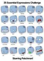 25 Expressions Patchman by Duchednier