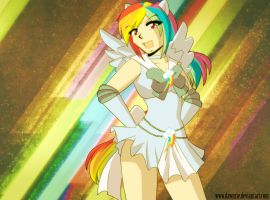 .:MLP Sailor Rainbow Dash:. by Dawnrie