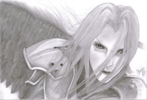 FFVII - Sephiroth by AriaWho