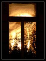 Sunfire In Window by skarzynscy