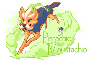 Mmm, smells like pistachio by Piscimancy