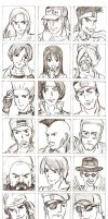 KOF 94: The Challengers by bluekensou