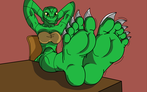 Soft scaly feet by KenJ91