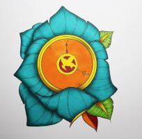 Hunger Games Tattoo Flash by TylerDobbs