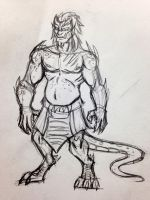 Dragon dude by RchlisNomSome