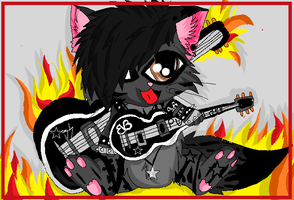 Ashley Purdy kitty by XxsilvixX