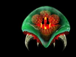 Metroid 2 by Numbmonkey