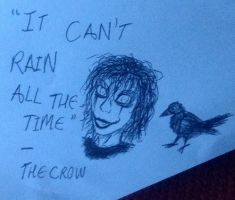 The Crow sketch by unholyghost842