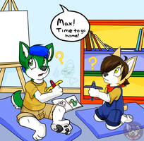 Daycare Mix-Up by HuskySoFly