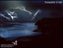 Thunder it up by Nothernwolf