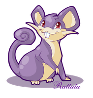 Rattata by Mythka