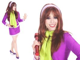 Daphne from Scooby Doo by AngelSamui