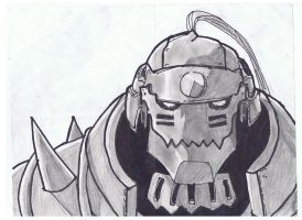 Alphonse Sketch by pinkharte