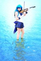 Super Sailor Neptune - Sailor Moon by Mostflogged