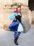 Anna Cosplay (NoFlutter design) by Tsu-yaa