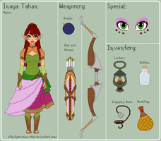 LoZ - Inaya Reference Sheet by porcelian-doll