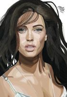 Megan Fox by AltrdColourVision