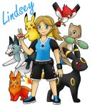 Trainer Lindsey by PokemonMasta