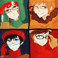 south park: goddamn glasses by Kite-Mitiko