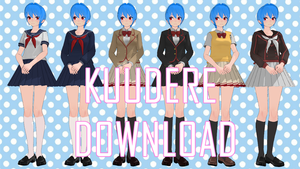 [MMD] TDA Kuudere All uniforms [+DL] by BooMaker