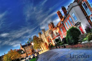 Lincoln Cathedral Street by nat1874