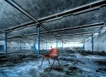 red chair by andrewfphoto