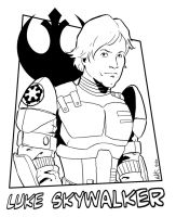 Luke Skywalker by NathanKroll