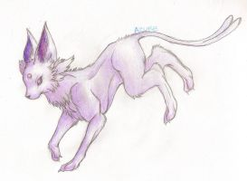 Eeveelution: Espeon by Aivelis