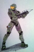 Master Chief by mnmetcalf