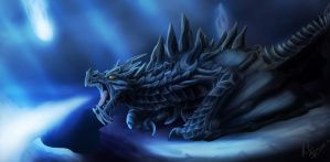 Alduin by StormFalconFire