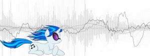 Vinyl Scratch Wave form. by transient-light