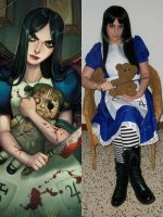 Alice Madness collage by Piccolapiplup
