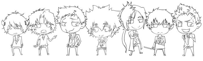 Vongola Family by rosey-so-silly