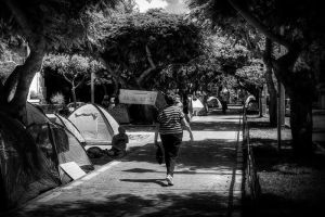 Tent City in Tel Aviv 01 by shaysapir
