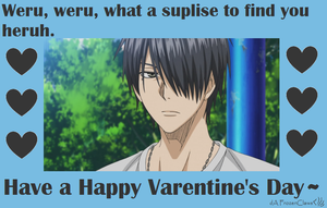 Kuroko no Valentine: I Aint Keepin a Pokah Face by FrozenClaws