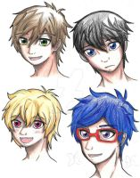 Iwatobi swim club drawing by forgottenlegend