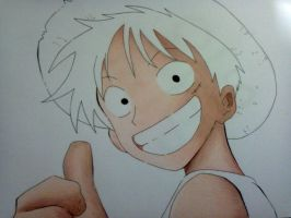 Wip Luffy by MiioChann