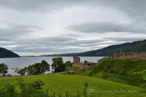 Urquhart Castle by GlaedrTheDragon