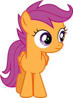 Neutral Scootaloo by Givralix