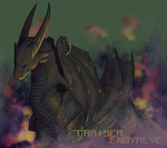 A Not-dragon by TratserEnoyreve