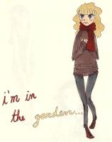 I'm in the garden by ph34rthecuteones