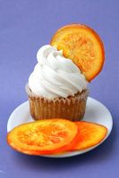 Orange Cupcakes by bittykate